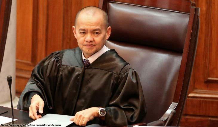 Associate Justice Marvic Leonen