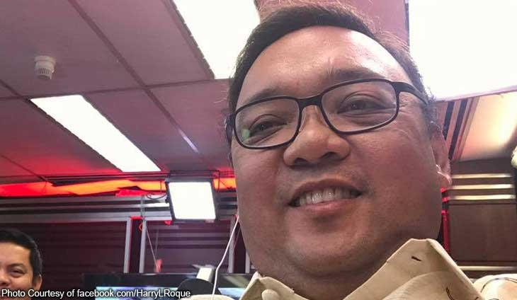 proxy - Press Release - Consumed by ambition and greed: Harry Roque - Talk of the Town