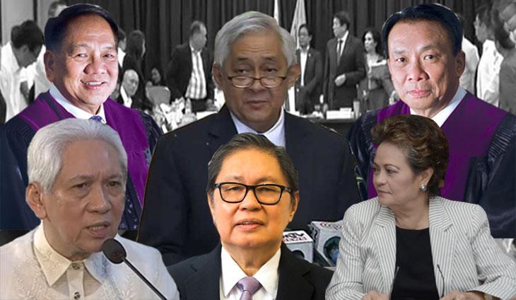 supreme court justices philippines sereno impeachment sereno news