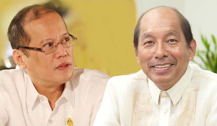 former president Benigno Aquino III former budget secretary Florencio Abad