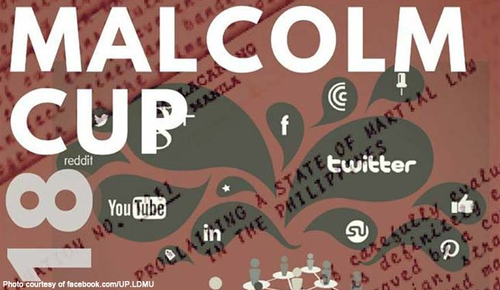 UP Law Debate and Moot Court Union Malcolm cup 2018