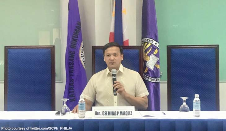 Court Administrator Jose Midas P. Marquez