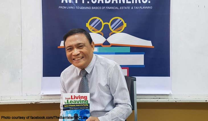 San Beda University Law tax professor and Bar lecturer Nicasio Cabaneiro