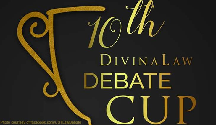 UST Law Debate DivinaLaw Cup